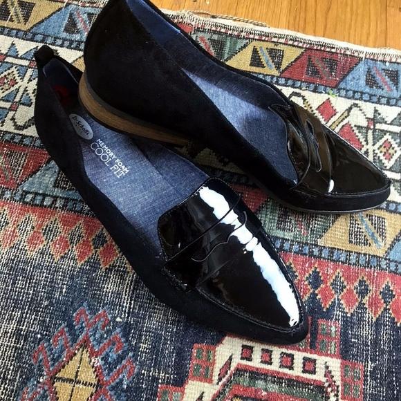 bc412d9792c Dr. Scholl s Shoes - Dr. Scholls Eclipse Black Patent Penny Loafer 10